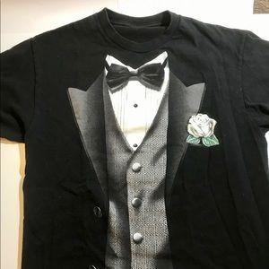 Other - Trompe l'oeil Tuxedo t-shirt